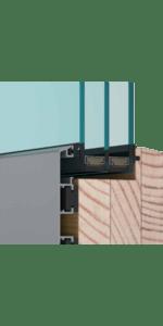 dřevohliníkové dveře od J&T SYSTEM