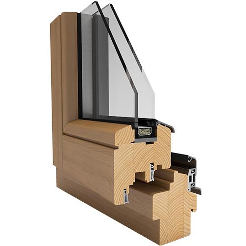 dřevěná okna od J&T SYSTEM